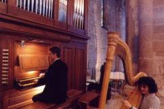 Abbazia di San Lorenzo Trento con l'organista Paolo Delama
