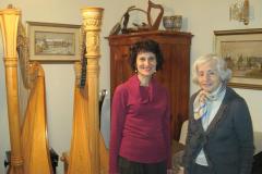 2011 con Elisabeth Fontan Binoche
