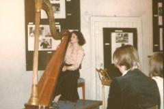 Gargilesse ( Francia)1978 Accademia di Perfezionamento dell'arpista Pierre Jamet