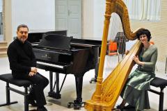 Con il pianista Corrado Ruzza