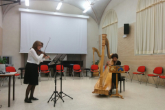 Une Fleur con la violinista Chizzola