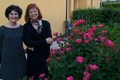 Con l'arpista Paloma Tironi