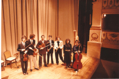 1987 Con l'Ensemble Accademico a Castelfranco Veneto