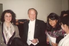 con Nicanor Zabaleta a Milano