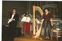 con il flautista Claudio Montafia