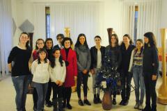 Allievi al Saggio Natale 2014