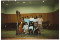 Sala Puccini Con le allieve del Conservatorio di Milano 1993