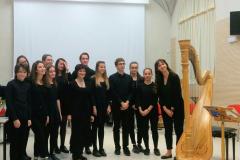 Al termine del concerto in ricordo del compositore Alessandrini
