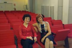Con Paloma Tironi al master class