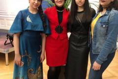 Allieve iraniane Shamim, Rozin e Helia